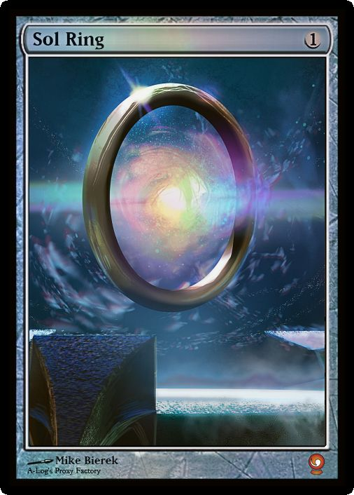 Sol Ring | MTG Digital Rendering | Pinterest | Rings