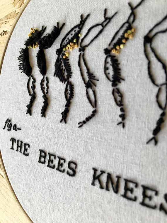 The Bees Knees  Merriam-Webster: a highly admired person or thing (i.e.- the cats meow)  Urban Dictionary: When bees flit from flower to flower the nectar sticks to their legs. The phrase bees knees means sweet and good, because the knees of the bee are where all the sweet, good stuff is collected. Usage: You brought me a coffee? Youre the bees knees!  Ever wanted to let someone know just how special they are to you? Nows your chance! Even better, our particular bees knees are very fuzzy…