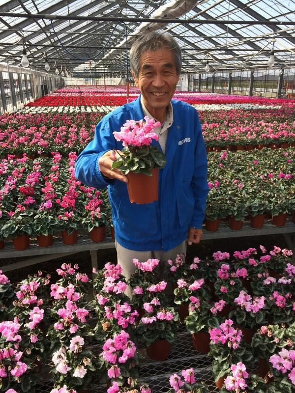 Proud grower in Japan