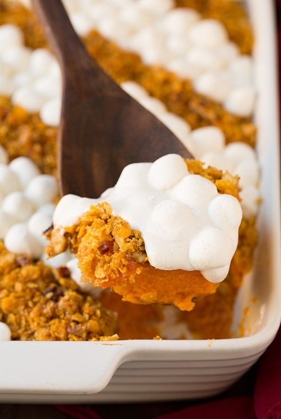 Browned Butter Sweet Potato Casserole | Cooking Classy Use ...