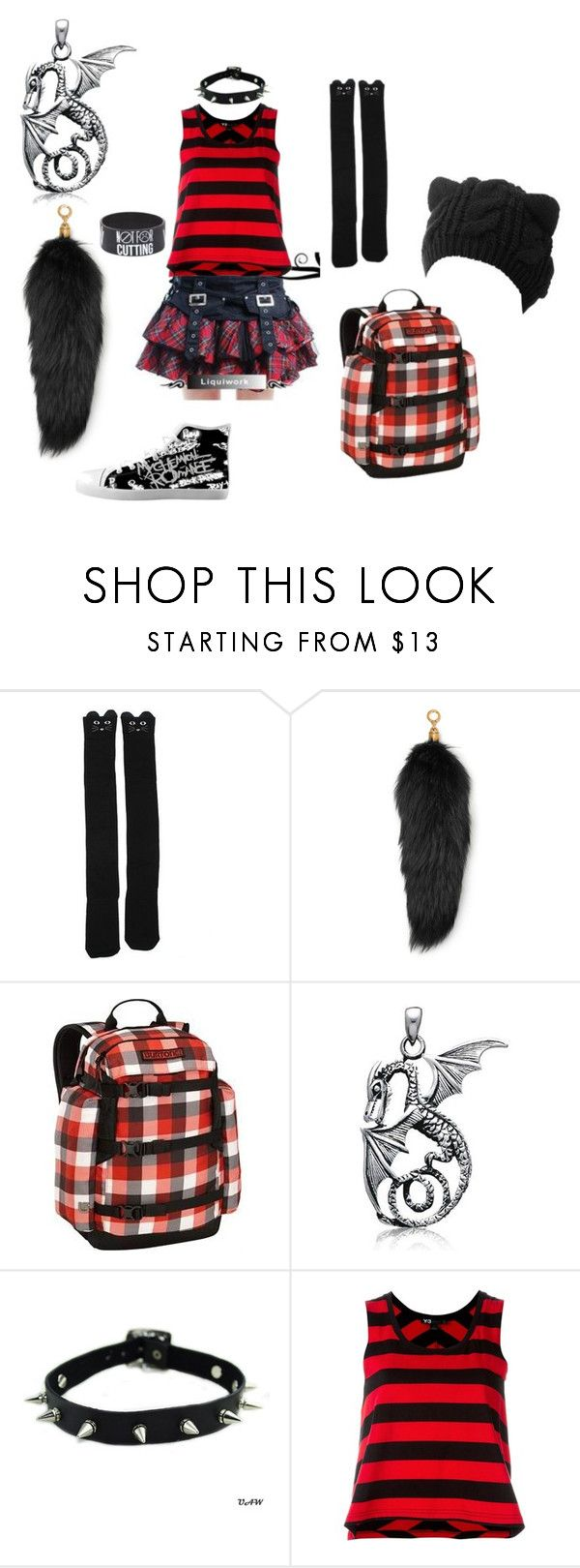 """""""Erin Elizabeth Pines #3"""" by sidaotic-haack ❤ liked on Polyvore featuring Kate Spade, Michael Kors, Burton, Bling Jewelry and Y-3"""