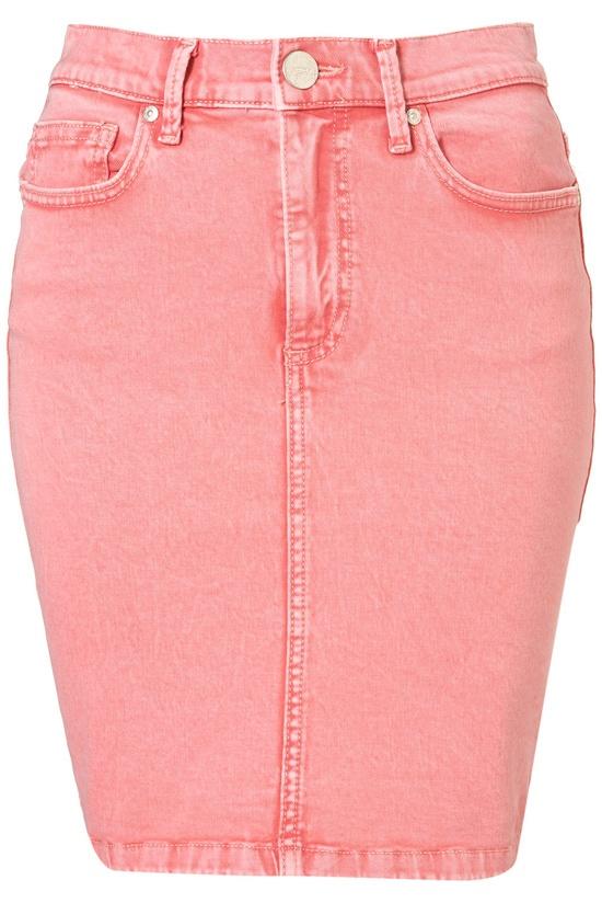light pink denim skirt, I think yes!!!