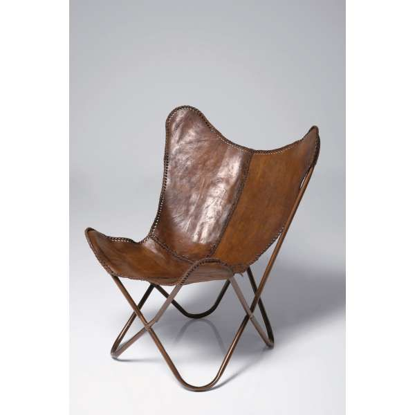 Vlinderstoel leer bruin robin classic klassiek leren lounge stoel meubels pinterest - Comfortabele lounge stoel ...