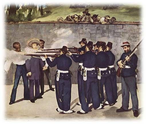 L'Exécution de Maximilien Édouard Manet   1867                                                                                                                                                                                 Plus