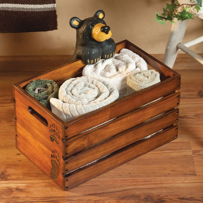Grand Bear Catch All · Rustic Bathroom AccessoriesBath ...