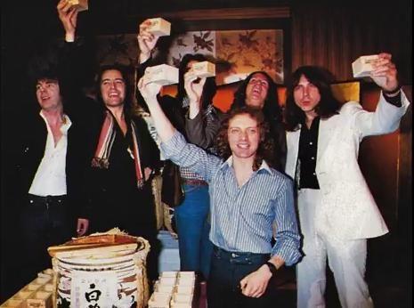 FOREIGNER JAPAN TOUR 1978