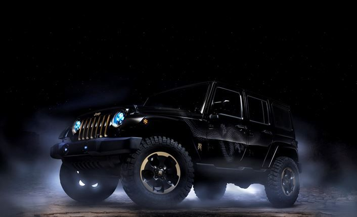 Ghost Jeep - Misterious Black
