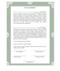 Pictures Acta De Matrimonio Broma Ajilbabcom Portal