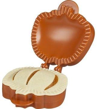 Crate - Pocket Pumpkin Pie Mold - $8.95 (eclectic kitchen tools)
