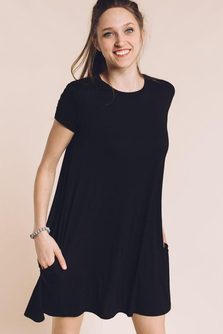 The Alice Piko Dress in Black