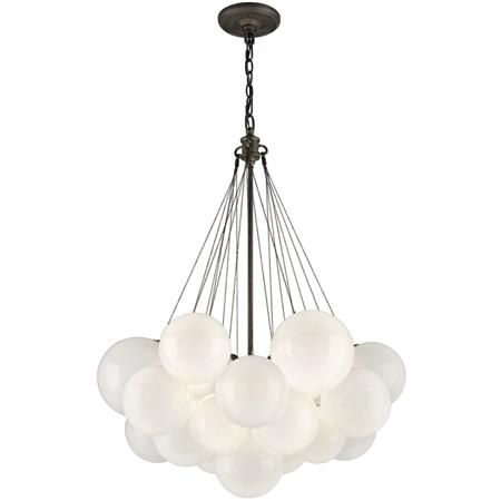 Small Glass Balloon Chandelier: