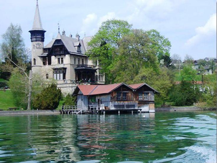 The Villa Paulick, the beautiful fairytale castle where
