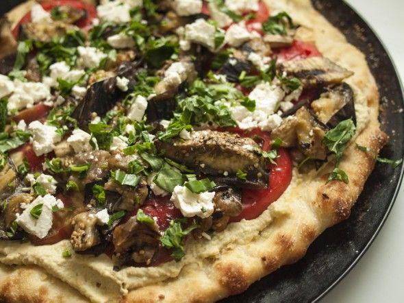Hummus Pizza, Freshherbs.com
