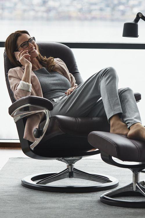 Der Klassiker Von Stressless Sessel Consul Komfort Im Schlichten