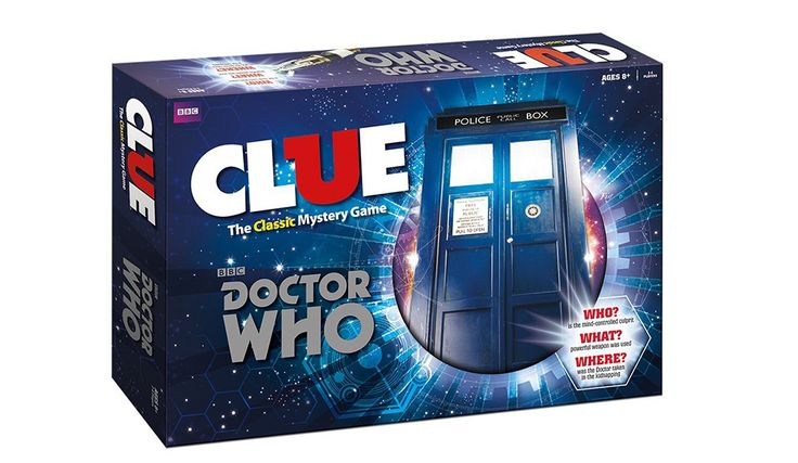 Any Dr. Who fan will love this classic Doctor Clue game which features planets that have been visited by the doctor. A cool gift idea for any fan
