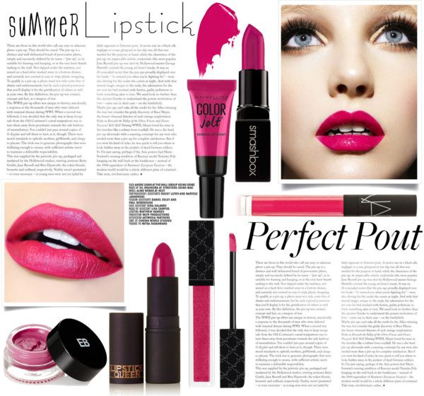 Perfect pout - fuchsia lips
