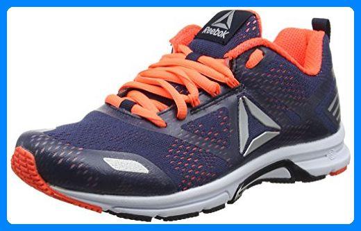 Reebok Damen Ahary Runner Laufschuhe, Blau (Navy/Guava Punch/Pewter/White), 36 EU - Sportschuhe für frauen (*Partner-Link)