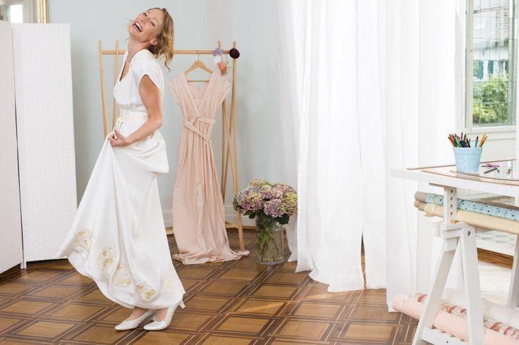 Hochzeitskleid von Kazu Huggler – Nähanleitung und Schnittmuster