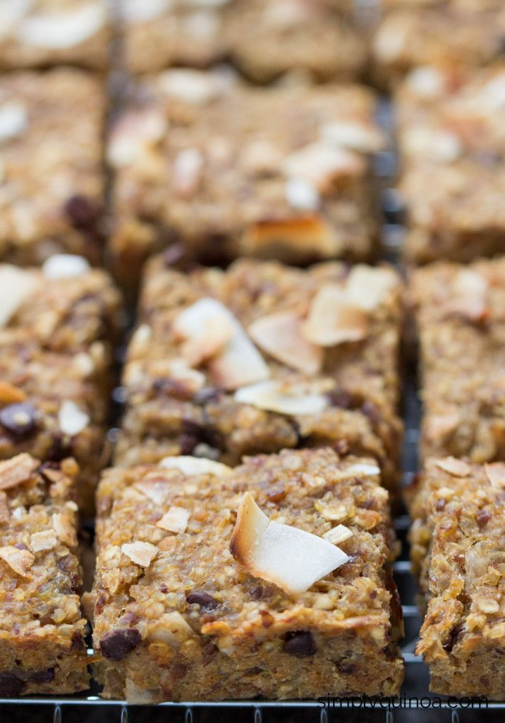 Simple Quinoa Breakfast Bars | Healthy Ideas for Kids