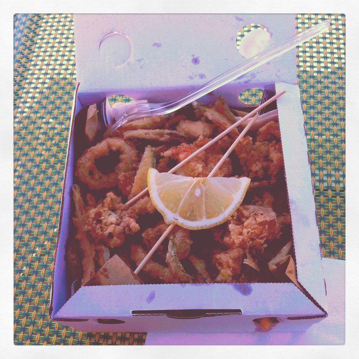 Frito Misto!!! A must try when you are in italy (Adriatico coastalline) #rimini #ricione #bologna