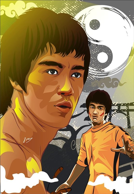 Bruce Lee Story by zenxys.deviantart.com on @DeviantArt