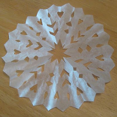 Coffee Filter Angel Tree Decorations | decorations. Mainly, tree ornaments. I don't have too many decorations ...