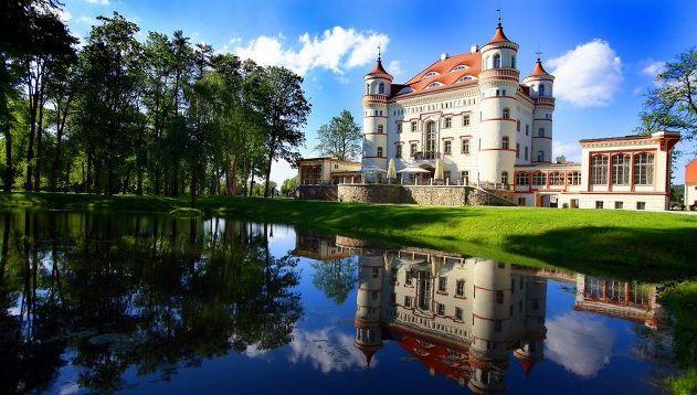 Wojanow Palace  http://www.historichotelsofeurope.com/en/Hotels/wojanow-palace.aspx