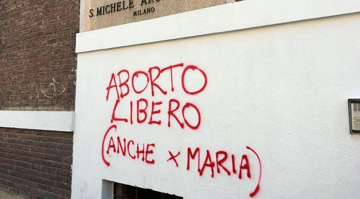 """""""Aborto libre, también para María"""", fueron las palabras que un abortista anónimo escribió en la pared de la iglesia San Miguel Arcángel y Santa Rita, en Milán (Italia); sin esperar que el párroco, a través de la cuenta de Facebook de la parroquia, publicara una respuesta que en pocas horas se ha vuelto viral."""