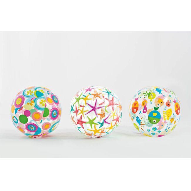 Strandballen met design (set van 3)  Gegarandeerd speelplezier met deze set strandballen. Elke strandbal heeft een eigen design: zeesterren vissen en octopus & friends. De strandballen hebben een diameter van 51 centimeter en zijn geschikt voor kinderen vanaf 3 jaar.  EUR 4.50  Meer informatie