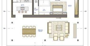 Analizaremos el diseño de unapequeña casa de dos dormitorios construida dentro de un bosque de coníferas, conuna estructura moderna donde se ha equilibrado el hormigón, el cristal y la madera yr…
