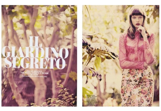 """Il giardino segreto"", Philippe Matignon - Goldenpoint per D - la Repubblica delle Donne, 16/03/2013, p. 238 Lasciati sedurre dalla lingerie Philippe Matignon- Goldenpoint http://shop.goldenpoint.com/it/IT/it/Vendita_Reggiseni_GLR.aspx?fn0=MAR=PHMT=LIN=1531  ""The Secret Garden"", Philippe Matignon -  Let yourself be seduced by Philippe Matignon Goldenpoint lingerie http://shop.goldenpoint.com/gb/GB/en/Sell_Bras_GLR.aspx?fn0=LIN=1531=MAR=PHMT"