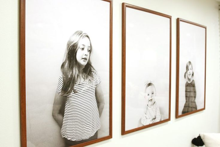 Modern, Inexpensive, Large-Scale Portraits-Updated! – Chris Loves Julia – Friesenhaus