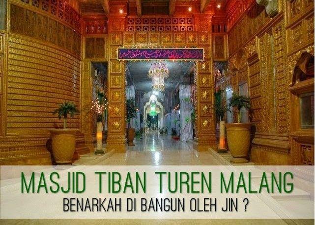 Masjid Ajaib di Malang ini Kabarnya dibangun oleh Bangsa Jin
