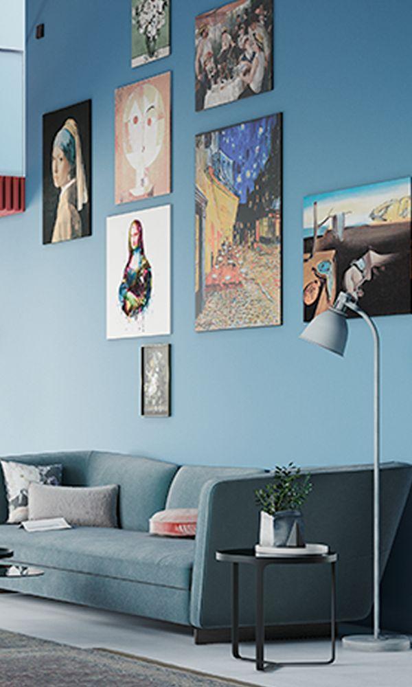 24 besten Wohnwelt Living with Art Bilder auf Pinterest   Hornbach ...