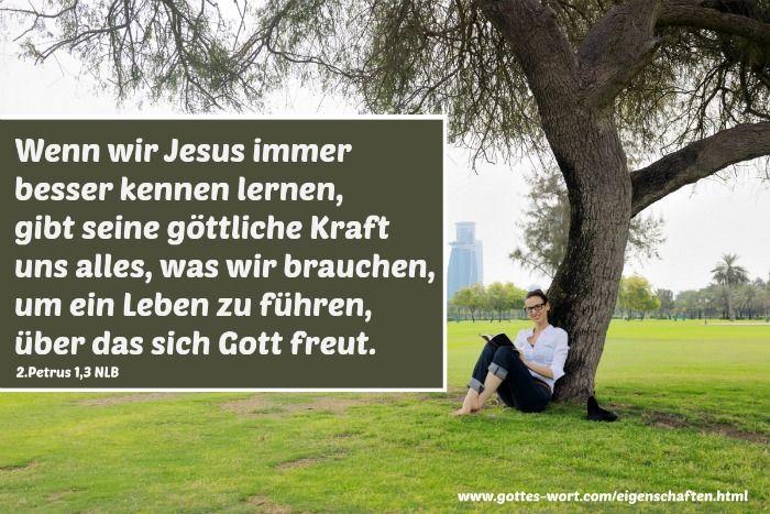 Gottes Eigenschaften gespiegelt! Wie? http://www.gottes-wort.com/eigenschaften.html