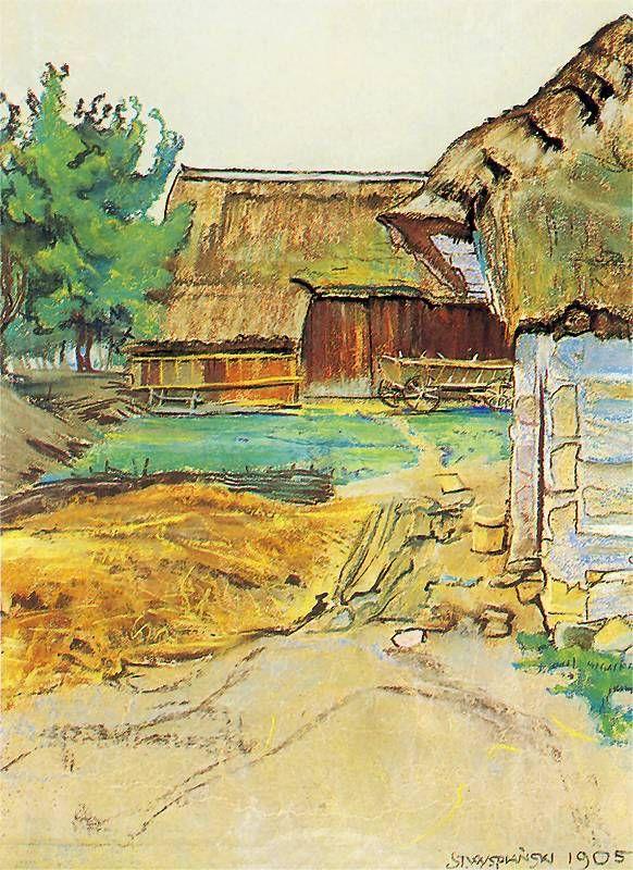 The Athenaeum - Farm (Stanislaw Wyspianski - )