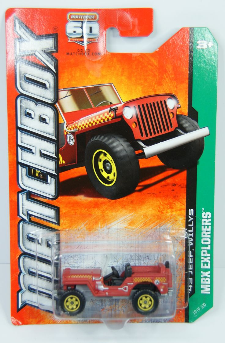 19/12o MBX Explorers 43 Jeep Willys