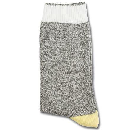 Democratique Socks RELAX MELANGECONTRAST Army / Broken White / Pale Yellow / Navy