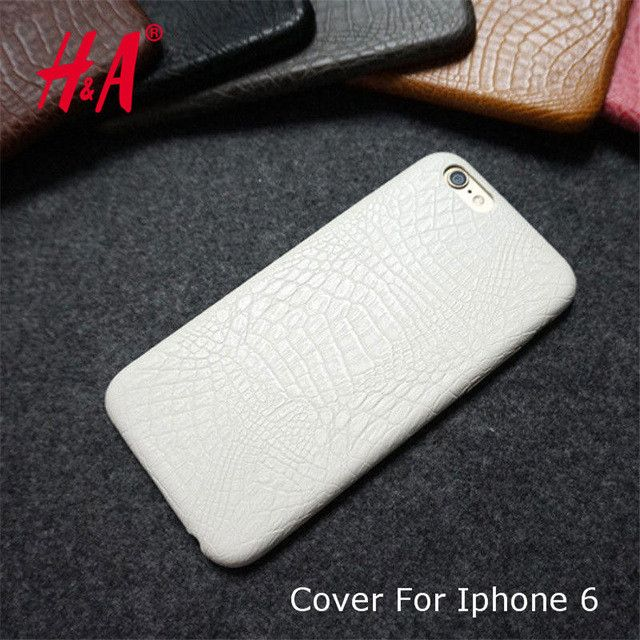 Luxury Crocodile Snake Print Leather Cases Back Cover for iphone6 6s Phone Bags Coque Capa For iphone 6 6s Case