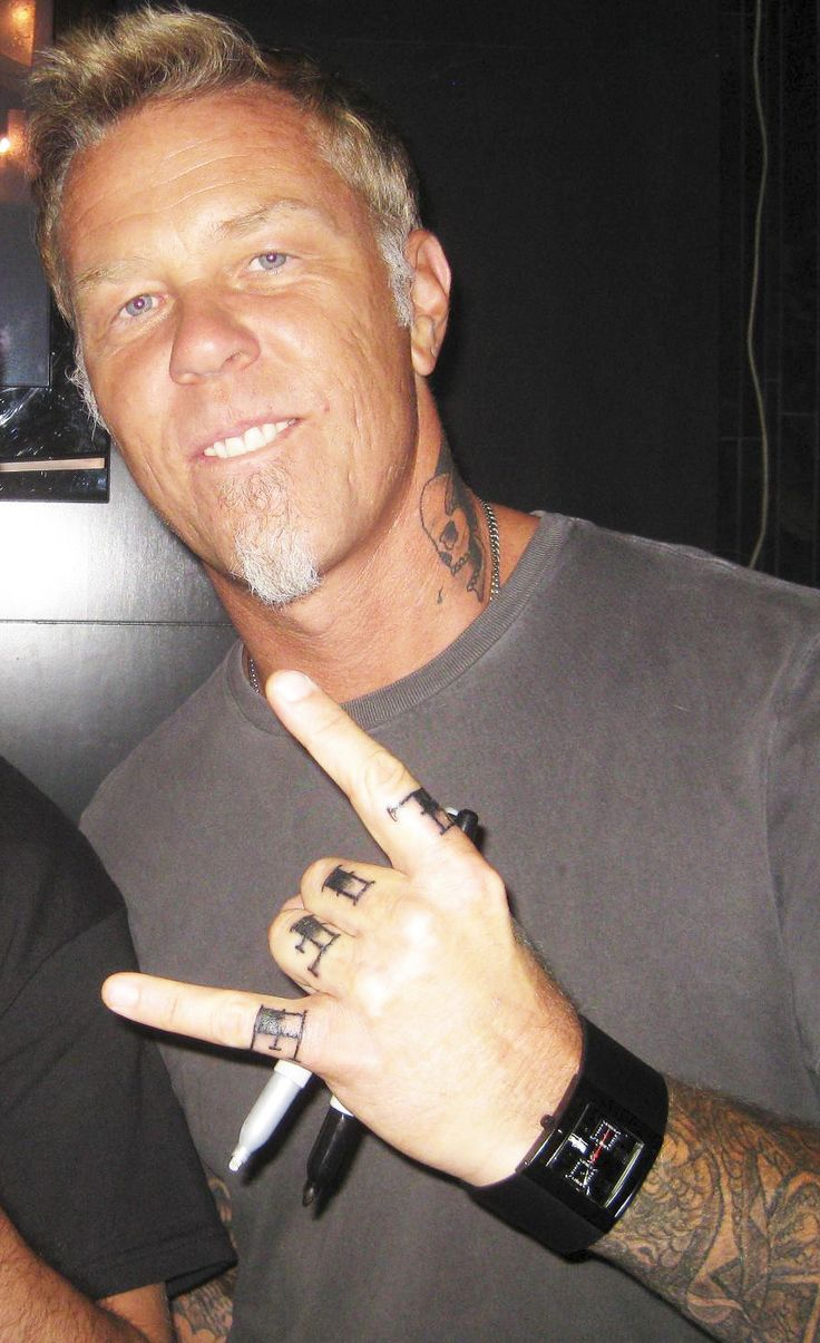 james hetfield tattoos - 439×720