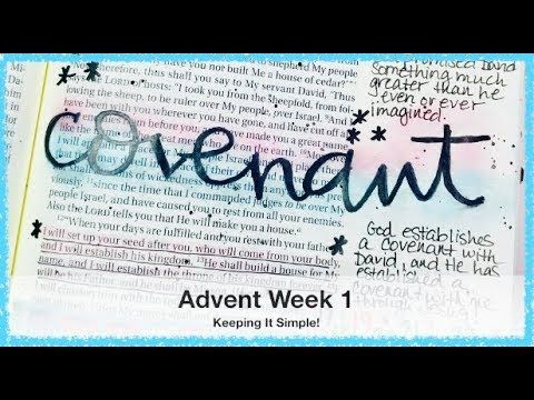 This simple Bible journaling process video features Illustrated Faith's Advent Devotional Kit and takes us to 2 Samuel 7:12-14. PRODUCT LINKS: Illustrated Fa...