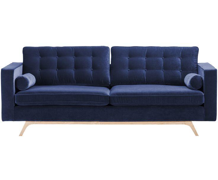 Perfect Samt Sofa Daniella Sitzer