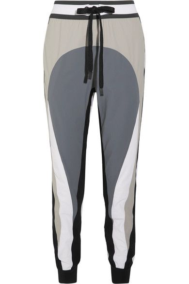 No Ka'Oi - Pana Color-block Stretch-shell Track Pants - Gray - 2