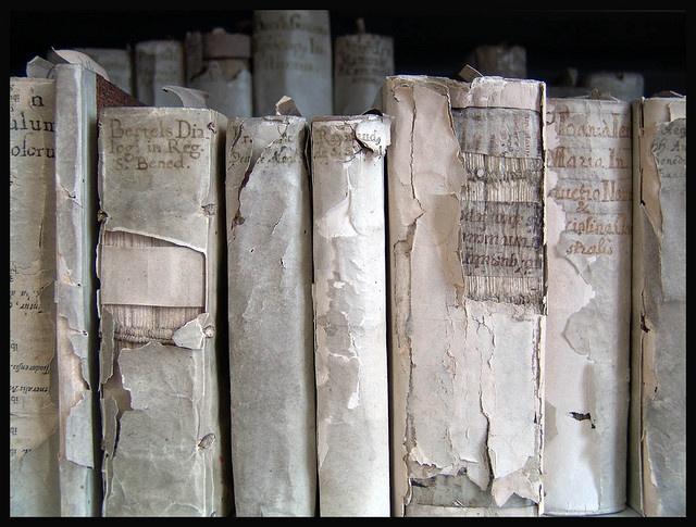 books. very old. very beautiful.