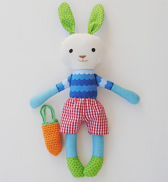 "Easter bunny for boys ""Baby Carrot"""
