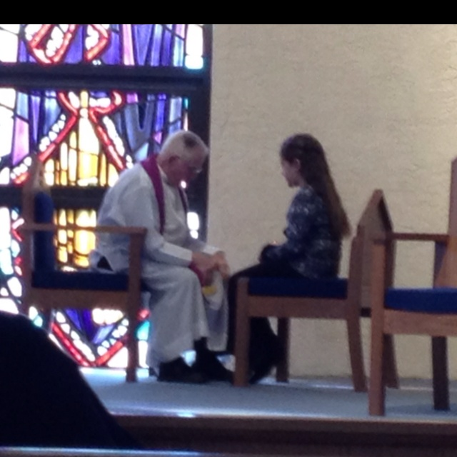 My little girl's First Reconciliation