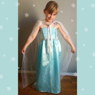 Un déguisement de Reine des Neiges pour les petites filles - Marie Claire Idées