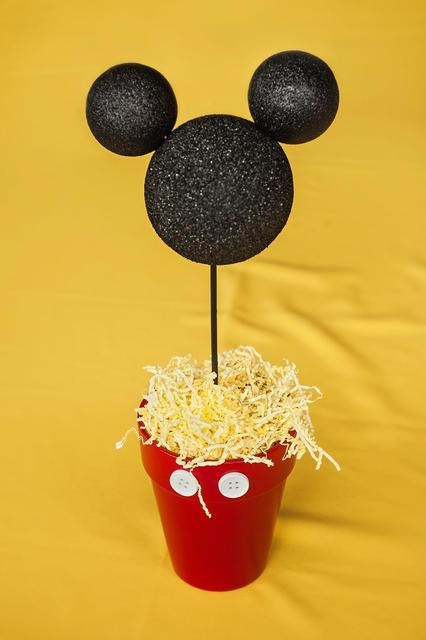 Mickey Mouse Centerpiece by LizsPartyDesigns on Etsy, $8.00