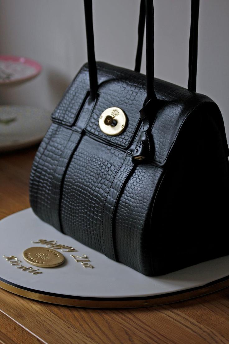 Handbag cake - by Kingfisher Cakes - Amazing!