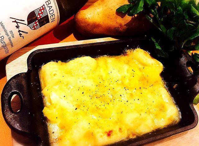 . 自家製ジャガイモニョッキのチーズ焼き🧀 . こんにちわ、キッチンスタッフの水落です☺︎ . 【自家製のモチモチなニョッキ🥔】と【三浦野菜のオレンジカリフラワー】を白ワインソース🍾で仕上げた大人な一品✨ . チーズは牛のミルク🥛を使って作られた🇮🇹フォンティーナチーズ🇮🇹 セミハードタイプのチーズでクセのないチーズなのでどの年代にも好まれるチーズとなっております😊💕 . 白ワインとの相性は最高😎✨ 一緒にぜひお召し上がりください👀!!! . . #チーズ#自家製#国産#白ワイン#hytokyo#roppongi#女子会#bar#六本木#プロジェクター#スポーツ観戦#個室#カラオケルーム#シャンパン#カクテル#ワイン#wine#肉#山本秀正#深夜営業#新メニュー#おすすめ#期間限定#スペシャル#大統領#リッツカールトン#晩餐会#デート#パーティ